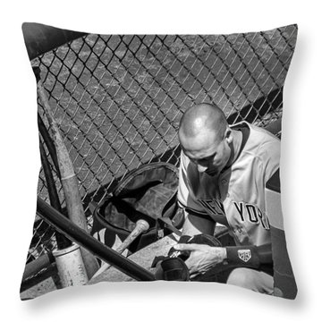 Moment Of Reflection Throw Pillow by Tom Gort