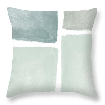Momentary Crossroads Throw Pillow by Linda Woods