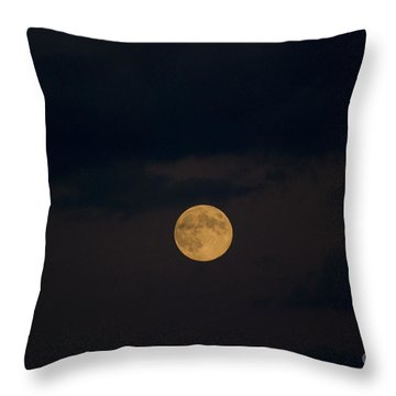 Moon Rising 07 Throw Pillow by Thomas Woolworth