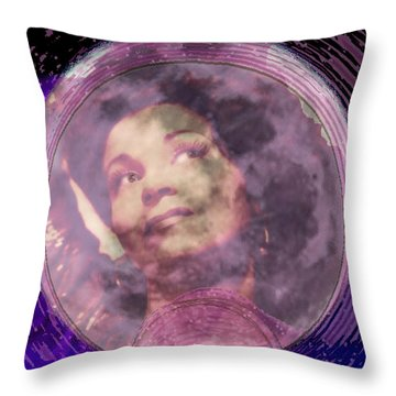 Moonlight Feels Right Throw Pillow by Seth Weaver