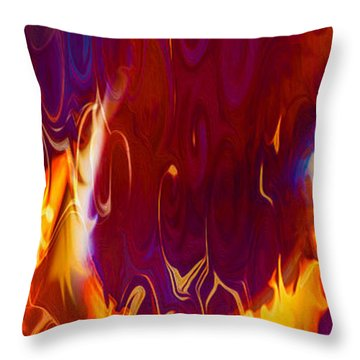 Moonlight Serenade IIi Throw Pillow by Omaste Witkowski