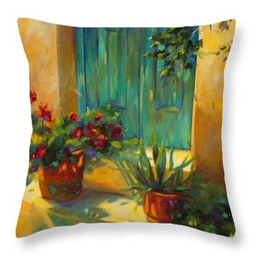 Morning Light Throw Pillow by Chris Brandley