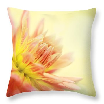 Morning Serenade Throw Pillow by Beve Brown-Clark Photography