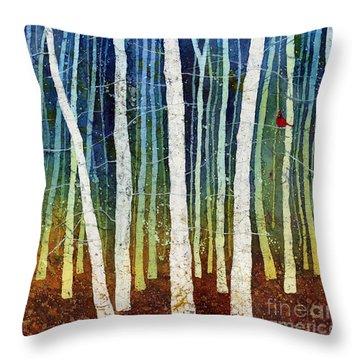 Morning Song 3 Throw Pillow by Hailey E Herrera