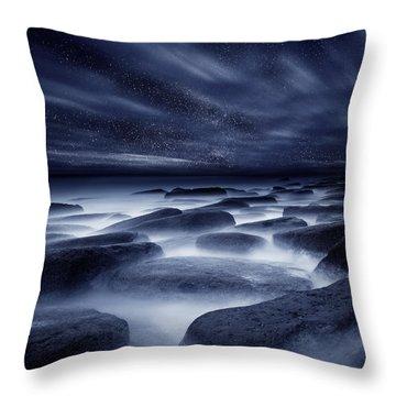 Morpheus Kingdom Throw Pillow by Jorge Maia
