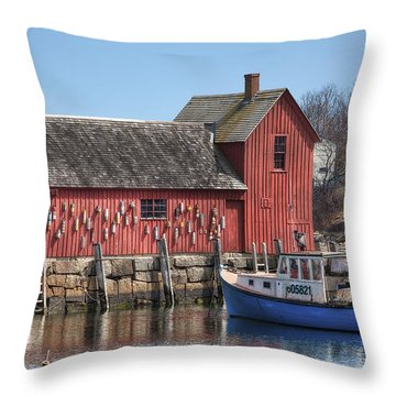 Motif Number 1 Throw Pillow by Eric Gendron