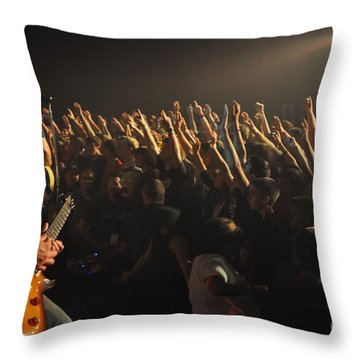 Museum-w-andy Davis-2586 Throw Pillow by Gary Gingrich Galleries