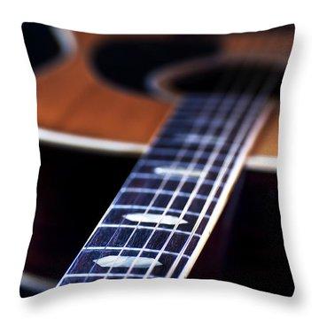 Musical Memories Throw Pillow by Tamyra Ayles