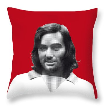 My Best Soccer Legend Poster Throw Pillow by Chungkong Art