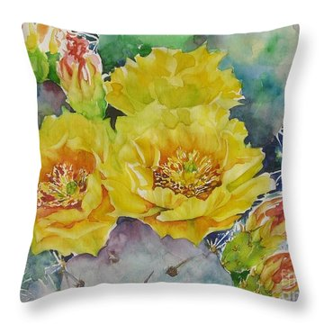 My Delight Throw Pillow by Summer Celeste