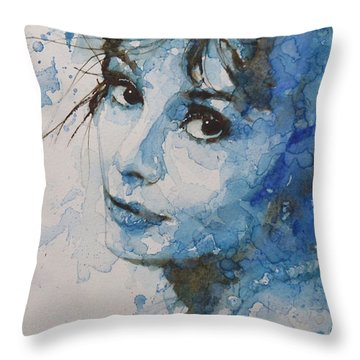 My Fair Lady Throw Pillow by Paul Lovering