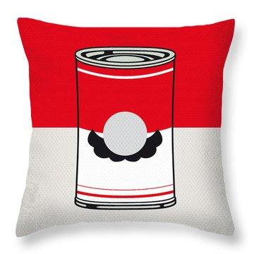 My Mario Warhols Minimal Can Poster-mario Throw Pillow by Chungkong Art