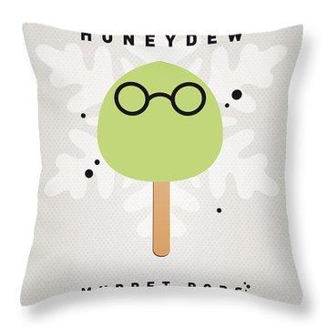My Muppet Ice Pop - Dr Bunsen Honeydew Throw Pillow by Chungkong Art