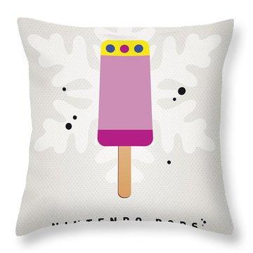 My Nintendo Ice Pop - Princess Peach Throw Pillow by Chungkong Art