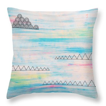 Myst Throw Pillow by Susan Claire