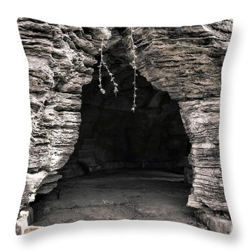 Mystery Way Throw Pillow by Olivier Le Queinec