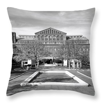 National Law Enforcement Officers Memorial Throw Pillow by Olivier Le Queinec