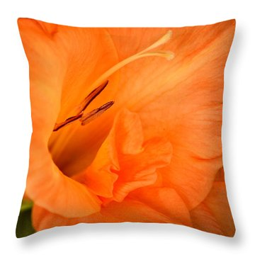 Natural Grace Throw Pillow by Deb Halloran