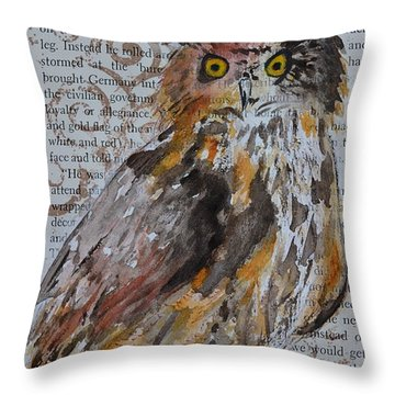 Nature Prevails Original Version Throw Pillow by Beverley Harper Tinsley