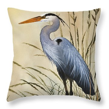 Natures Grace Throw Pillow by James Williamson