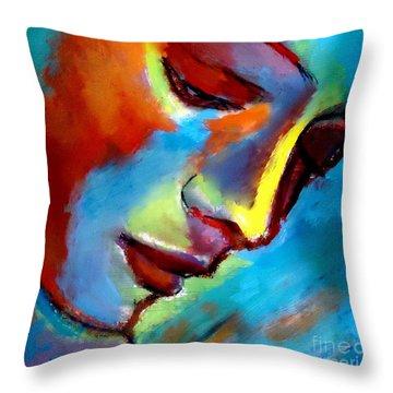Near To The Heart Throw Pillow by Helena Wierzbicki