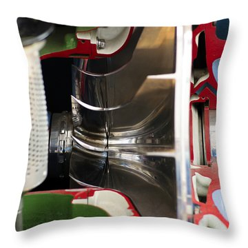 Necessity Is The Mother Of Invention Throw Pillow by Christi Kraft