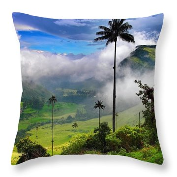 Nephilim Throw Pillow by Skip Hunt