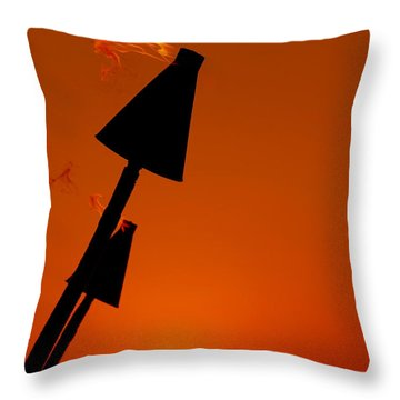 Night Light Throw Pillow by Athala Carole Bruckner