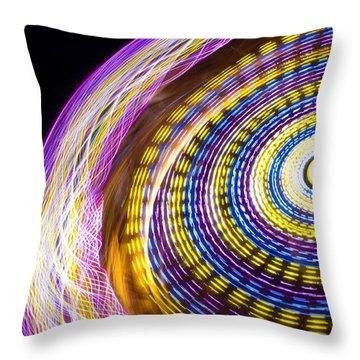 Night Zipper Throw Pillow by Caitlyn  Grasso