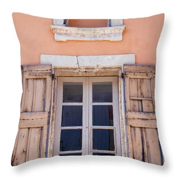 Nine Panes Minus One Throw Pillow by Bob Phillips