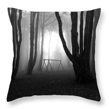 No Man's Land Throw Pillow by Jorge Maia