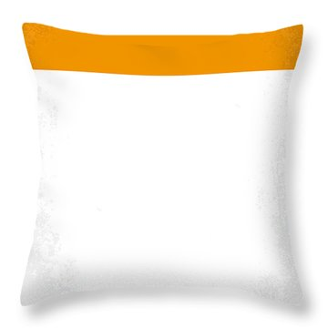 No002 My A Clockwork Orange Minimal Movie Poster Throw Pillow by Chungkong Art