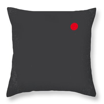 No199 My Terminator Minimal Movie Poster Throw Pillow by Chungkong Art