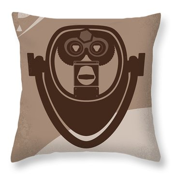 No217 My Oblivion Minimal Movie Poster Throw Pillow by Chungkong Art