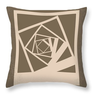 No243 My Memento Minimal Movie Poster Throw Pillow by Chungkong Art