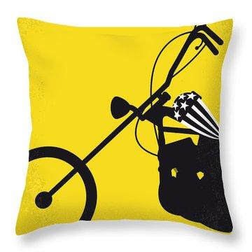 No333 My Easy Rider Minimal Movie Poster Throw Pillow by Chungkong Art