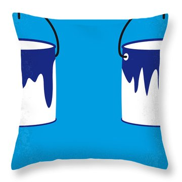 No427 My Home Alone Minimal Movie Poster Throw Pillow by Chungkong Art