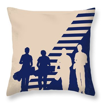 No429 My Stand By Me Minimal Movie Poster Throw Pillow by Chungkong Art