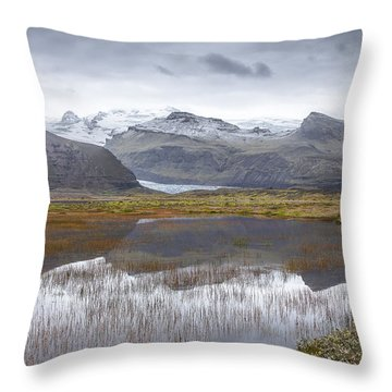 Nothing Matters Throw Pillow by Jon Glaser