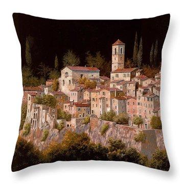 Notte Senza Luna Throw Pillow by Guido Borelli