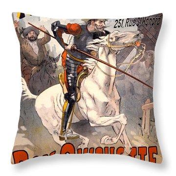 Nouveau Cirque Throw Pillow by Gary Grayson
