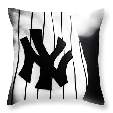 Ny Pride Throw Pillow by John Rizzuto