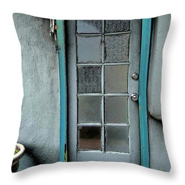 Occupant Throw Pillow by Nick David