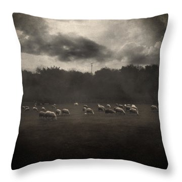 October Insight Throw Pillow by Taylan Soyturk
