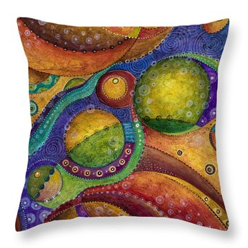 Odyssey Throw Pillow by Tanielle Childers