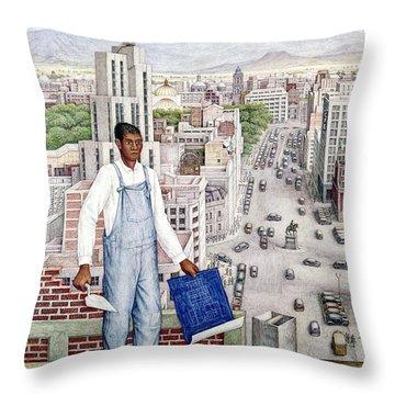 Ogorman: City Of Mexico Throw Pillow by Granger