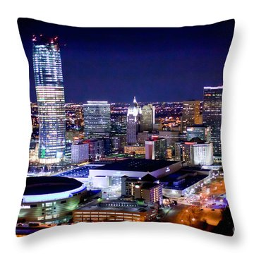 Oks001-23 Throw Pillow by Cooper Ross