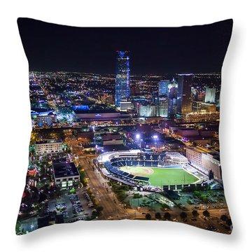 Oks00511 Throw Pillow by Cooper Ross