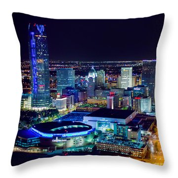Oks0053 Throw Pillow by Cooper Ross