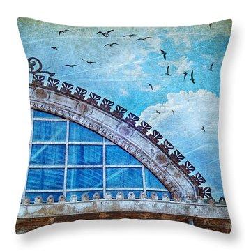 Old Deposit Detail Throw Pillow by Silvia Ganora
